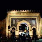 "Bab Bou Jeloud, Morocco🇲🇦 called ""blue gate"""