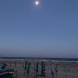 満月と海 #ベトナム #Vung_Tau