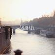 綺麗  #セーヌ川#パリ#海外旅行