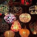 ホイアンのランタン売りの屋台。この中から2つ買いました。 #ベトナム #Hoi_An