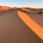Sahara Desert, Morocco🇲🇦 with sunset🌞