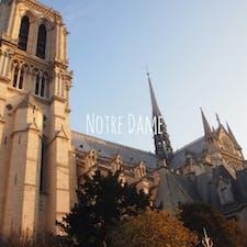 ノートルダム大聖堂  #パリ#ノートルダム大聖堂#海外旅行