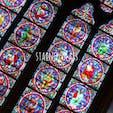 ステンドグラスって魅力的  #ステンドグラス#ノートルダム大聖堂#パリ#海外旅行