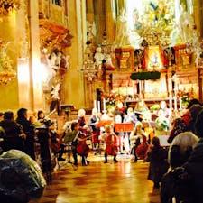 ウィーンの小さな音楽隊 ウィーンの聖ペーター教会にて。