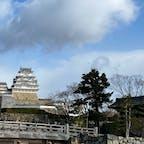 兵庫県(姫路城) ・ ・ 時間の都合により車窓から🏯