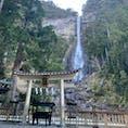 和歌山県(那智の滝) ・ ・ こんなに高さのある滝は初めてみました!
