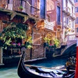 イタリア、ベネツィアのゴンドラ。