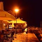 クロアチア、ロビィニの夜。