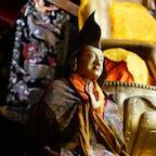 インド、ラダックのヘミス寺院。チベット仏教のお寺。