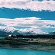 【ニュージーランド🇳🇿】 テカポ湖 ニュージーランド縦断の旅1  自然を感じるなら ニュージーランドは本当におすすめです。圧倒的な美しさ。 その中でも、テカポ湖は一番おすすめスポット。  レンタカー🚙を借りて北島、南島を横断しました。  #ニュージーランド #NZ #テカポ湖