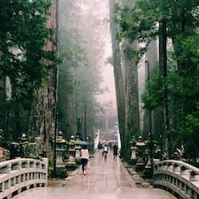 【和歌山県/高野山】  静寂の中に聞こえる雨の音が素敵でした。 日本人なら一度は訪れて欲しい場所。  #和歌山県 #高野山