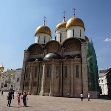 ロシア正教の大聖堂 ウスペンスキー聖堂