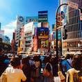 2017.09.02  東京観光② in渋谷🏙  まるで別世界。ホントに新幹線で1時間でいける場所なのか不思議で仕方ない  そして圧倒的3密
