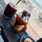 アメリカンヴィレッジのカフェ。:°ஐ..♡* 甘くて美味しかったやつ☺︎ #沖縄