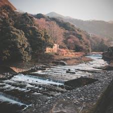 #神奈川 #箱根湯本 #早川 #赤い橋 #あじさい橋