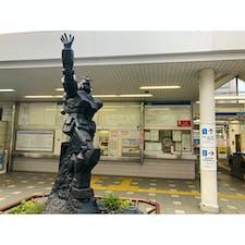ガンダムがいるのはお台場だけじゃなかった!西武線の上井草駅にもいた!