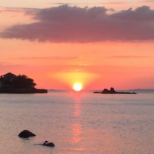バタンガスの夕日