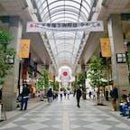 【宮城】仙台  サンモール一番街  GW前半は関東でのんびり過ごしてて 新宿のカフェとか入れないくらい混んでたから さすが10連休〜!と思ってたけど 仙台来てみたらめちゃめちゃ空いてた。  東北穴場説  #宮城° #仙台 #電車旅 #2019/05/01
