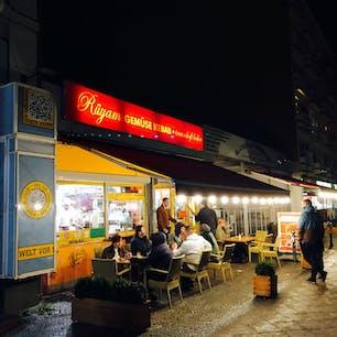 ベルリンのケバブ屋はムスタファズだけではありません。  Rüyam Gemüse Kebab