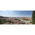 ロミオとジュリエットの街、ヴェローナ。パノラマで、細長。。