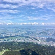 Pilatus Swizerland 登山鉄道で登って行くワクワク感 最高の眺め ロープウェイも楽しかったです