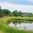 福島県会津若松市のやすらぎの里。 仏教世界がテーマで、拝観料500円だけで庭園や巨大な観音像の胎内めぐりが楽しめる場所! 四季折々の植物が植えてあって、紅葉の季節がおすすめらしい。