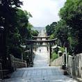 わたしの好きな景色。 福岡県福津市 宮地嶽神社 光の道ができるところ。
