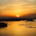 英虞湾の朝焼け。神々しいばかりなり。