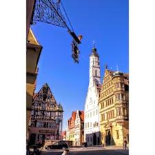 ドイツ、ローテンブルクの街。