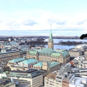 ハンブルク市庁舎 @ドイツ