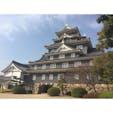 岡山城 形とか色とか好きなお城🏯 #201803 #s岡山 #s城