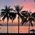 フーコック島の夕日