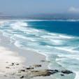 南アフリカ、ケープタウン近くの海岸。