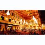 ウィーン楽友協会 通称、黄金のホール ウィーンフィルによるニューイヤーコンサートはここで。