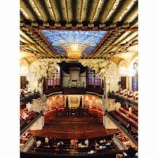 バルセロナ、カタルーニャ音楽堂