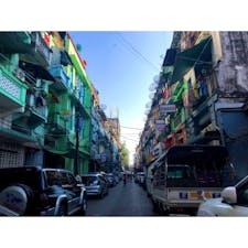 【ミャンマー🇲🇲】ヤンゴン   #ミャンマー° #ヤンゴン #2019/02/07