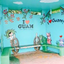 Guam bus stop