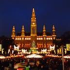 ウィーン市庁舎 クリスマス・マーケット