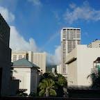 Hawaii 青い空と虹