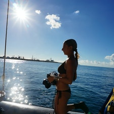 Hawaii 青い空と海