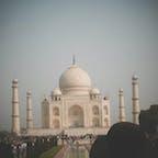 Taj Mahal @India 細部にわたる繊細な模様、大理石は圧巻  Mar. 2012