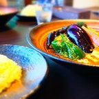 北海道 富良野 スープカレーとスパイスカレーの店きち 野菜が美味しい