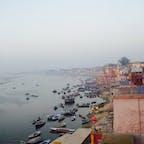 Ganges River @ India 周りの喧騒から離れられる 神聖さを感じる川  Mar. 2012