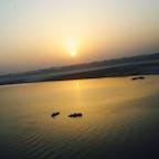 Ganges River @ India 人生でいちばん感動した日の出  Mar. 2012