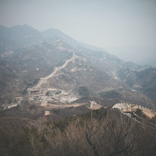 The Great Wall @ China 初めての一人旅  Mar. 2015