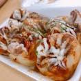 #躍りたこ焼き #とれとれ市場 #和歌山  イイダコがまるまる1匹入ってます(^^)