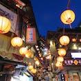 【台湾/九份】 夜のここは大賑わい。階段を上るのも下がるのも大変。