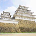 兵庫県姫路市 姫路城  今までたくさん城見てきたし、 姫路城も2回目だけど、 やっぱりこの迫力はすごいなあ。  そして、白鷺と言われるだけの 靱やかさがあります。  感無量。