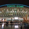 2018.03.23   プロ野球OP戦 巨人✗楽天 in東京ドーム  そこら辺の球場とは雰囲気大違い🏟  両チームエースが先発で見ごたえあったなぁ