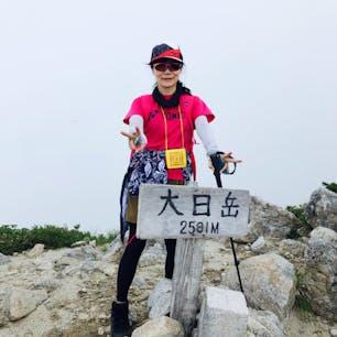 2020.8.1 大日岳登頂成功 1500m高低差は初めて 晴れていれば、後ろに剣岳が見えるはずでした。